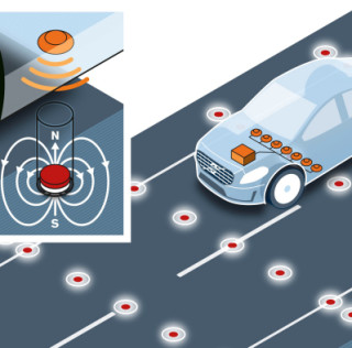 Volvo's Magnetic Roads Might Make Self-driving Cars Viable